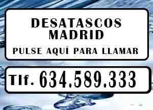 Desatascos Rivas Vaciamadrid Urgentes